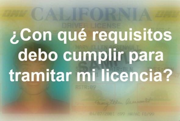 Los solicitantes de licencia de manejar considerados bajo la ley AB 60 d...