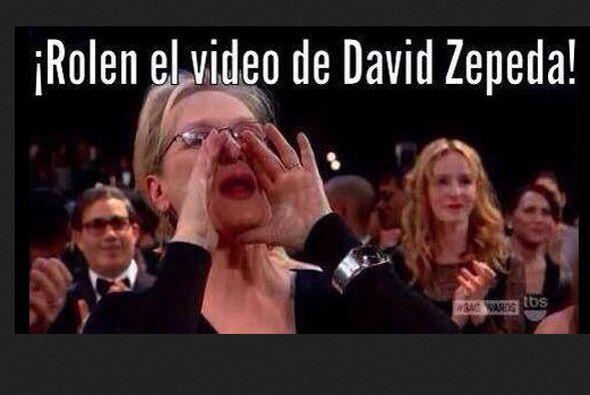 Llovieron memes como éste, con Meryl Streep gritando en el Oscar, pero a...