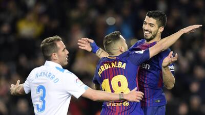 Barcelona vs. Deportivo La Coruña