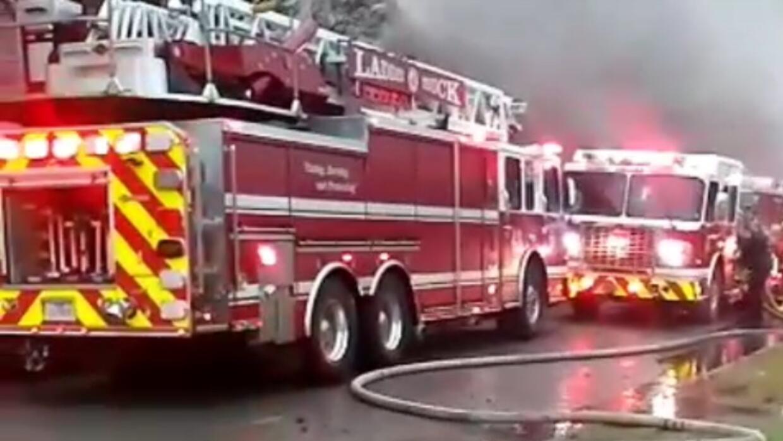 Una vivienda explotó por una fuga de gas