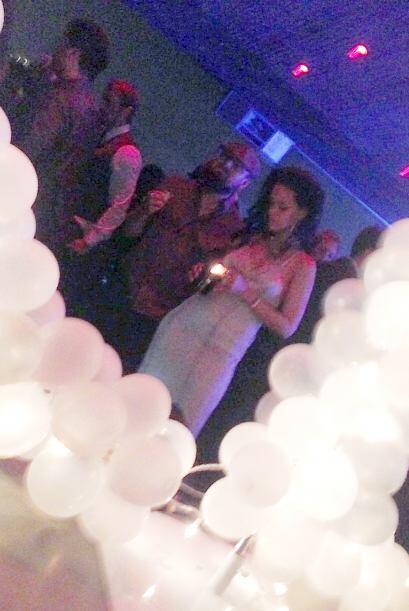 Rihanna tuvo una exclusiva fiesta de cumpleaños hace unos días en Los An...