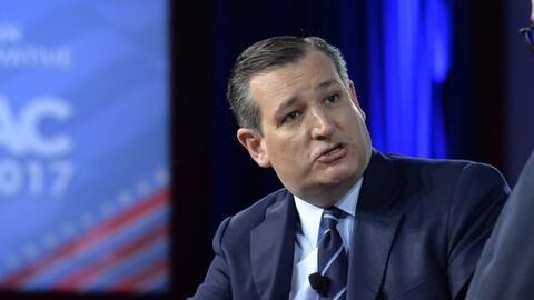 Ted Cruz enumeró las prioridades del Congreso de EEUU para apoyar al gob...