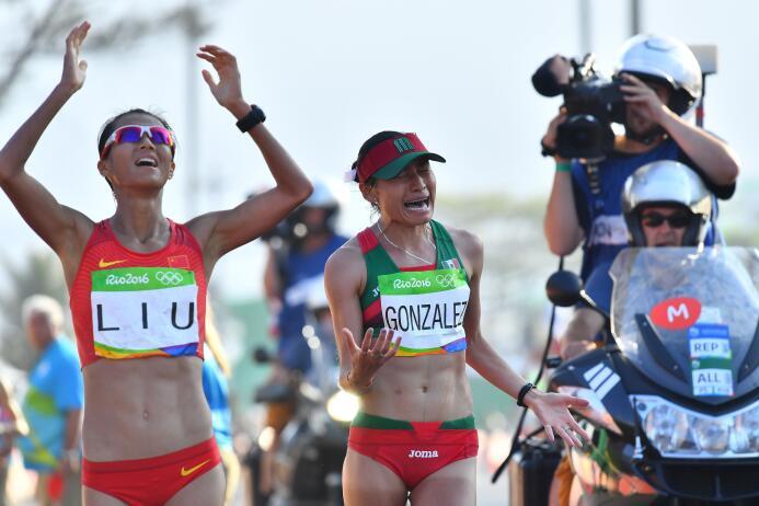 Lupita González, la guerrera del atletismo mexicano GettyImages-59220639...