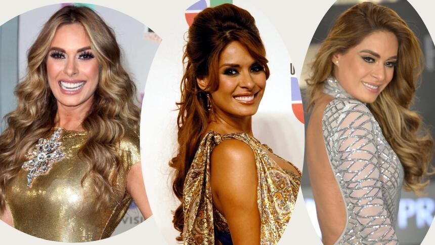 Galilea Montijo hair style