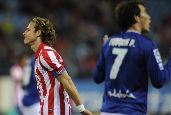 Al final, el marcador de 2-1 en contra del Atlético los aleja de puestos...