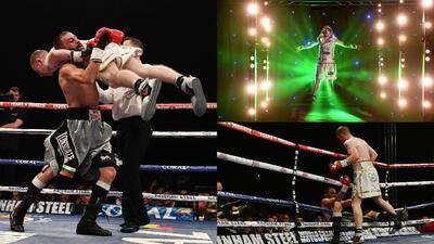 El insólito final en la primera pelea como profesional de un boxeador