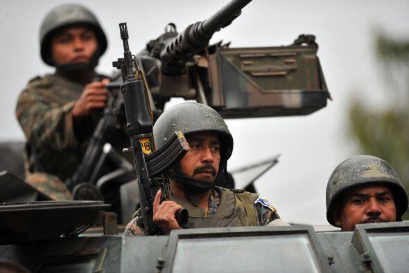 Guatemala, Honduras y El Salvador formarán una fuerza conjunta para enfr...