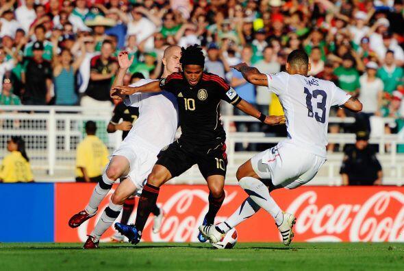 La más reciente fue en la Final de la Copa Oro del 2011, cuando México s...