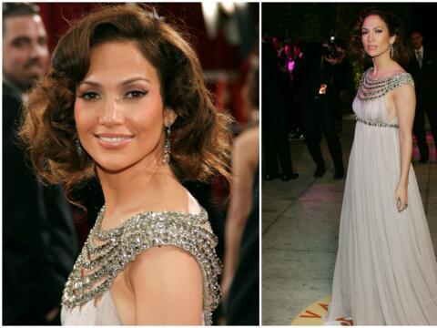 Jennifer Lopez Oscars 2007