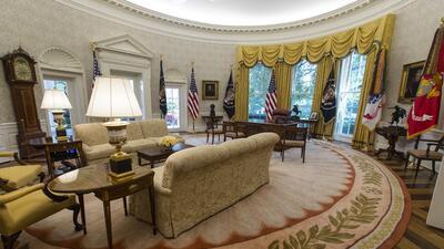 En fotos: La vieja Casa Blanca remodelada para Donald Trump
