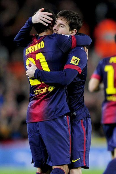 No fue Messi, pero los barcelonistas ya lograban la paridad.