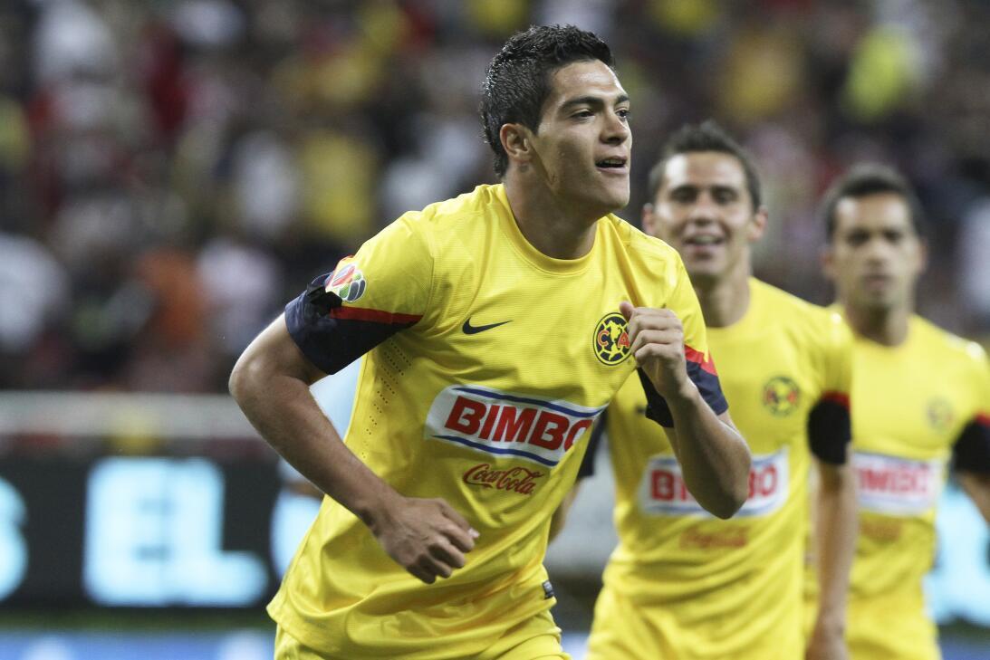 Miguel Herrera, ganador en el Clásico Nacional con América 20130331-7657...