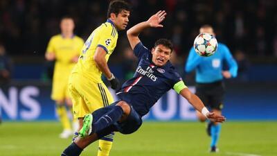 El encuentro ante el Chelsea fue muy complicado para los jugadores del PSG.