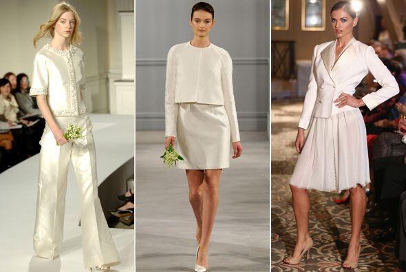 Los grandes vestidos de las princesas se van quedando atrás, las novias...