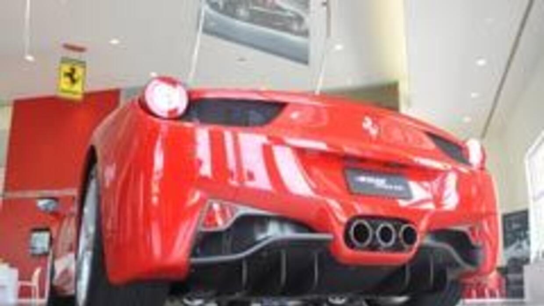 El Ferrari 458 Italia 2010 llegó a EU