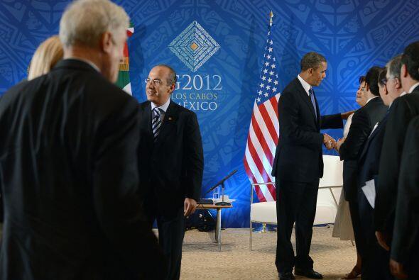 """""""Por todo lo que hemos visto, su liderazgo en esta cumbre va ayudar much..."""