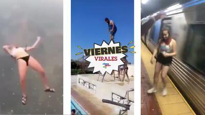 Viernes Virales: Gritos, patadas, celulares rotos y arrumacos, captan novela de la vida real en celular