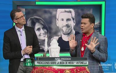 """El 'Niño' prodigio sobre Messi y Antonella: """"Hay una muerta que los une..."""