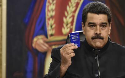 El presidente Nicolás Maduro pidió por decreto en mayo con...