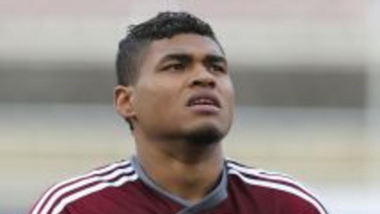 Josef Martínez hizo el gol del triunfo de Venezuela.