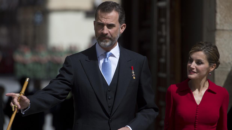 Los reyes de España, Felipe VI y Letizia.