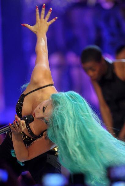 Así bailó Gaga durante la entrega de los Much Music Awards, y su estilo...