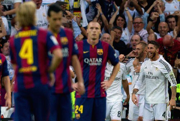 El Real Madrid derrotó 3-1 al Barcelona en el Santiago Bernabéu en un pa...