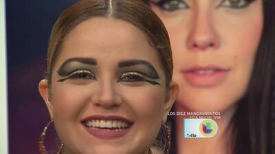 Gredmarie Colón ahora es Nefertari de Los Diez Mandamientos