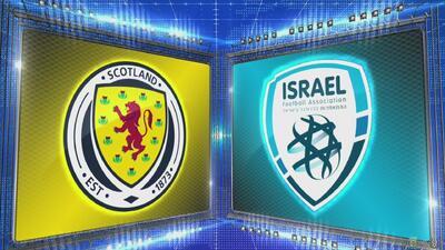 Escocia 3-2 Israel - GOLES Y RESUMEN - Liga C - Grupo 1 - UEFA Nations League