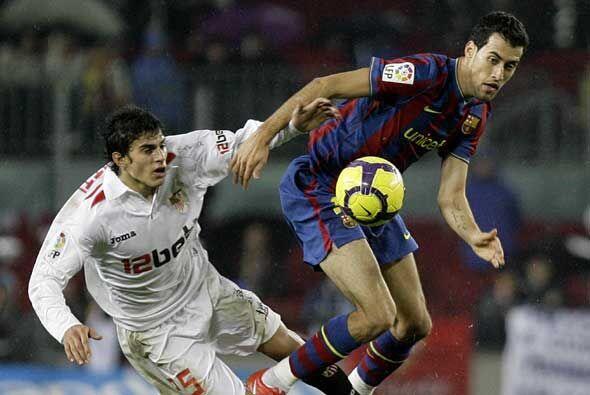 La vuelta en Sevilla se presenta complicada para el Barcelona.