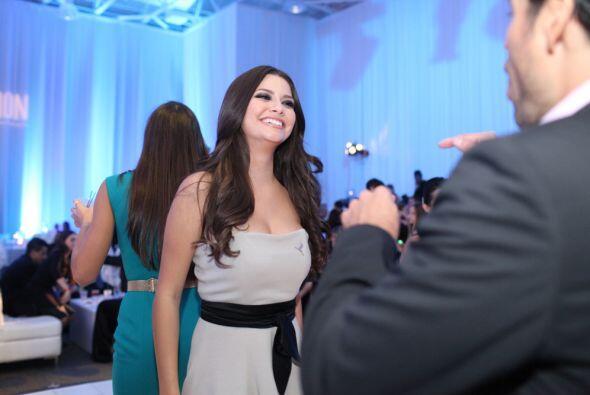 Pamela fue la maestra de ceremonias de una gala benéfica del Hospital St...