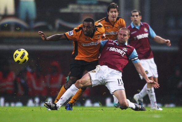 West Ham United se enfrentó al Wolverhampton en un partido duro y bastan...