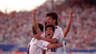 Historias de Mundiales: el 'débil' Corea del Sur que asustó a los grandes en 1994