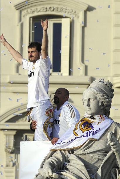 Lo mismo se veía por parte de Iker Casillas.