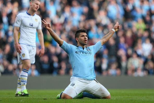 Agüero marcó el 4-0 que daba cuenta al marcador final.