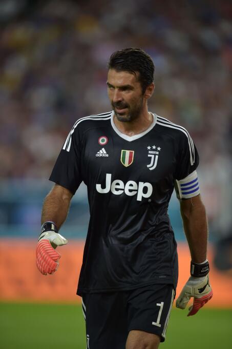Mejor portero: Gianluigo Buffon (Juventus F.C.)