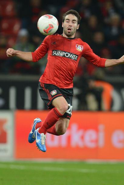 El jugador formado en la cantera del Real Madrid juega con el Bayer Leve...