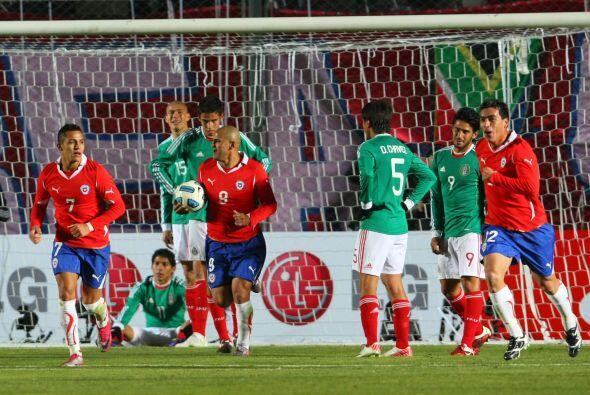 En la Copa América 2011 Chile derrotaría 2-1 a un cuadro mexicano diesma...