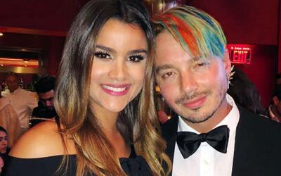 J Balvin le confesó a Clarissa de qué color traerá el pelo en Premio Lo...