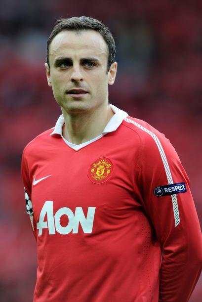 Un caso extraño es el del delantero del Manchester United, Dimitar Berba...