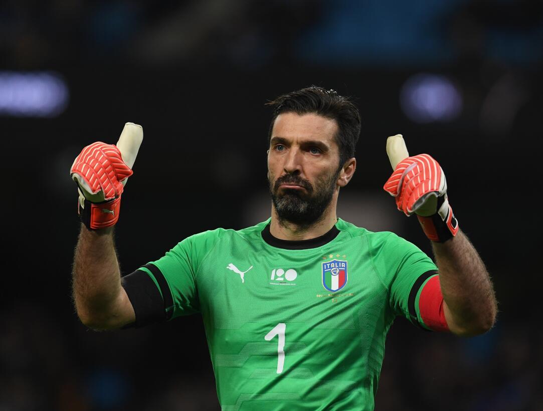 4. Gianluigi Buffon (Italia) - 175 partidos