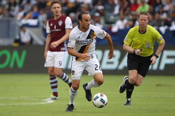 De la MLS a la Liga MX: Landon Donovan, atacante de Los Ángeles Galaxy