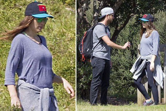 ¿Serán estas las primeras fotos de la pancita de embarazo del primer beb...