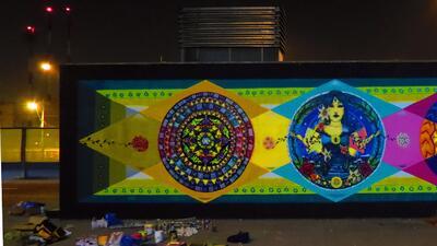 Muchachitas Pintoras: arte femenino en las calles chilenas
