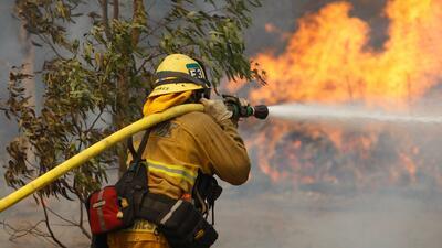 Incendios y temperaturas extremas en California