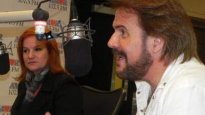 Pimpinela en Amor 107.5 FM de Miami.