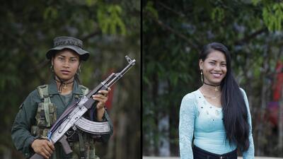 En fotos: Cómo se ven las guerrilleras de las FARC sin el uniforme