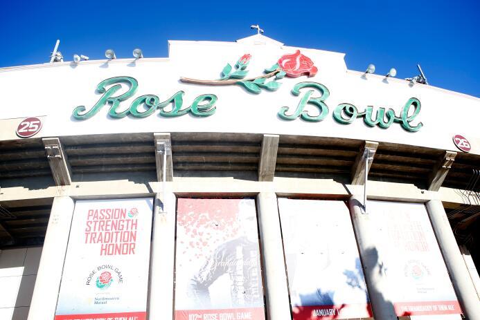 Rose Bowl de Pasadena, el estadio más viejo de la Copa America Centenari...