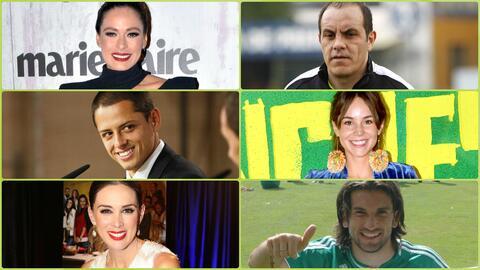 Actrices de telenovela que se enamoraron de futbolistas