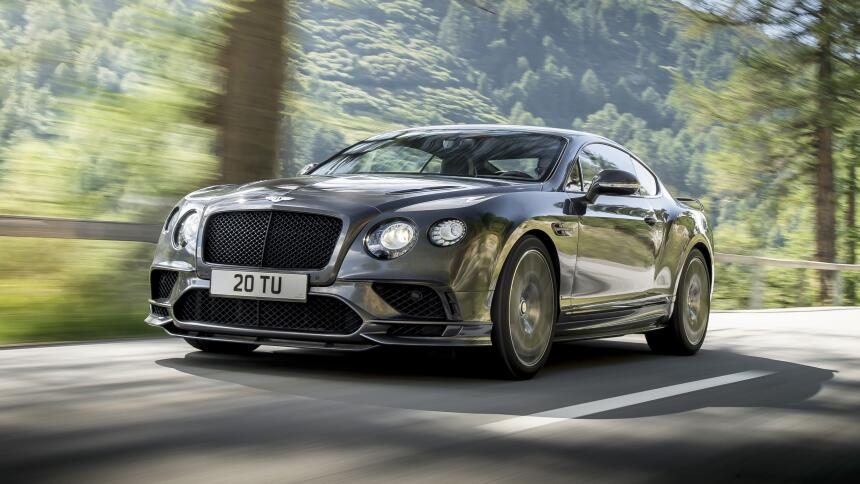 Bentley Contiental GT Supersports 2017